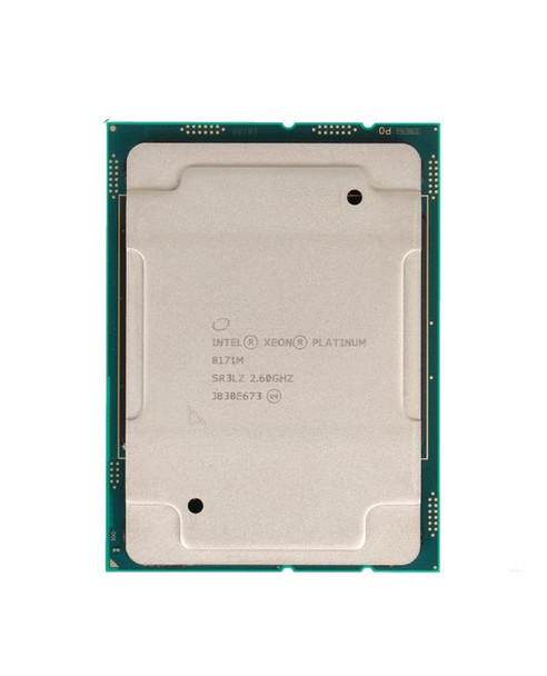 Intel Xeon 8171M 26-Core 2.60GHz 35.75MB L3 Cache Socket LGA 3647 Processor Mfr P/N SR3LZ