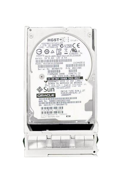 H101812SFSUN1.2T Sun Oracle 1.2TB 10000RPM SAS 12Gbps 128MB Cache (ISE / 512n) 2.5-inch Internal Hard Drive