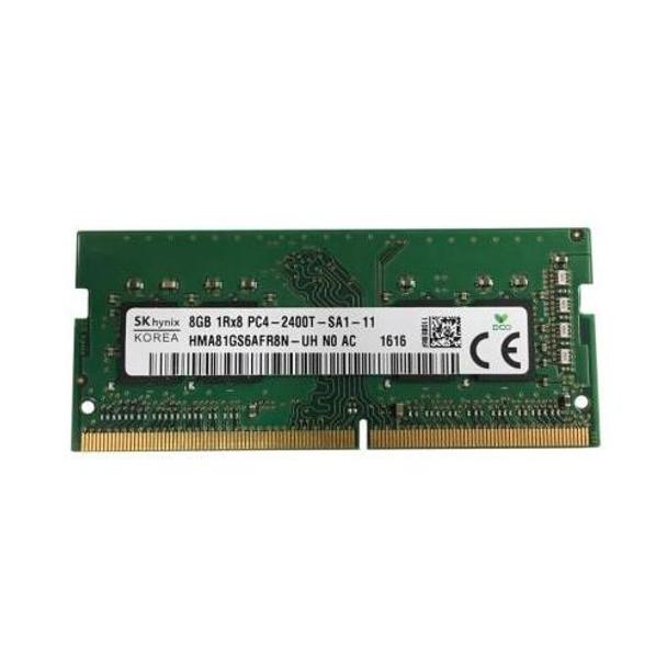 HMA81GS6AFR8N-UH Hynix 8GB DDR4 SoDimm Non ECC PC4-19200 2400Mhz 1Rx8 Memory