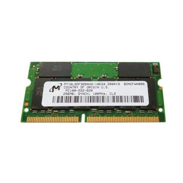 MT16LSDF3264HG-10E Micron 256MB SODIMM Non Parity PC 100 100Mhz Memory