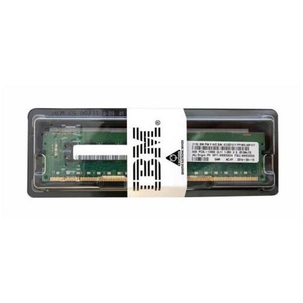 00D5024 IBM 4GB DDR3 Registered ECC PC3-12800 1600Mhz 1Rx4 Memory