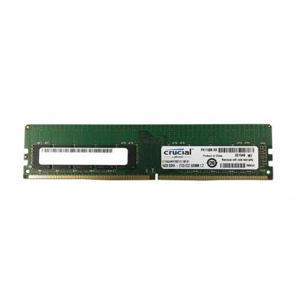 CT16G4WFD8213 Crucial 16GB DDR4 ECC PC4-17000 2133Mhz 2Rx8 Memory
