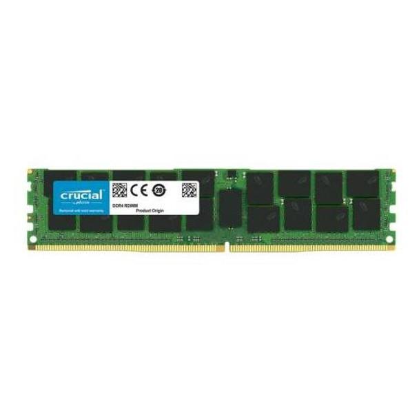 CT32G4RFD424A.36FB1 Crucial 32GB DDR4 Registered ECC PC4-19200 2400Mhz 2Rx4 Memory