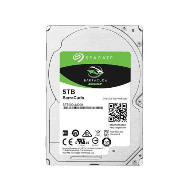 ST5000LM000 Seagate 5TB 5400RPM SATA 6.0 Gbps 2.5 128MB Cache BarraCuda Hard Drive
