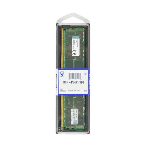 KTH-PL421/16G Kingston 16GB DDR4 Registered ECC PC4-17000 2133Mhz 2Rx4 Memory
