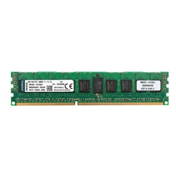 9965433-154.A00LF Kingston 8GB DDR3 Registered ECC PC3-12800 1600Mhz 1Rx4 Memory