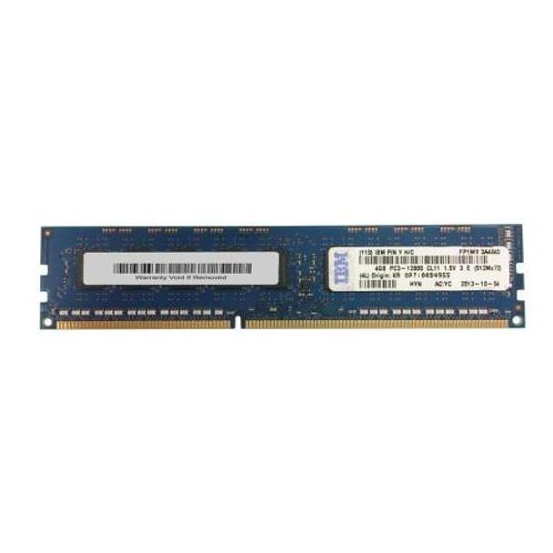 00D4955 IBM 4GB DDR3 ECC PC3-12800 1600Mhz 2Rx8 Memory