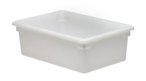 18x26x9h Wht Poly Food Storage Box