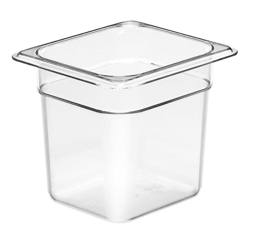 "1/6 Size Food Pan - 6""d"
