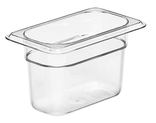"1/9 Size Food Pan - 4""d"