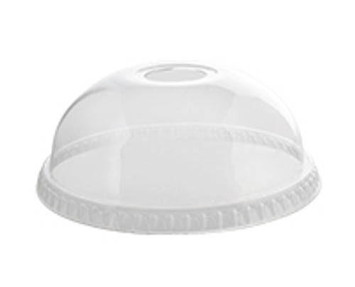 98mm/16-24oz Cold Cup Lid Dome w/Hole (1M/CS)