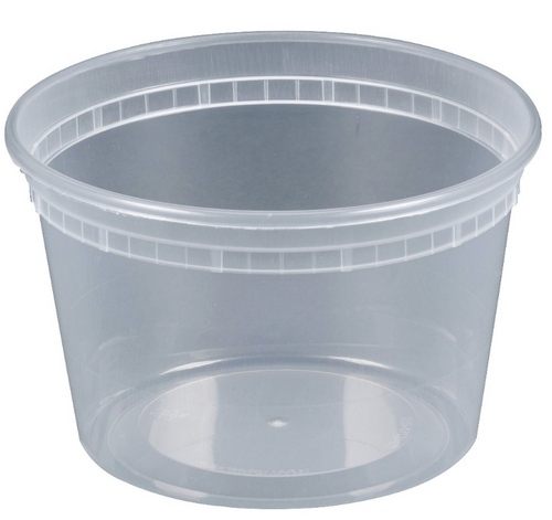 Bulk 16oz Heavy Deli Container