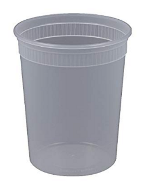 Bulk 32oz Heavy Deli Container