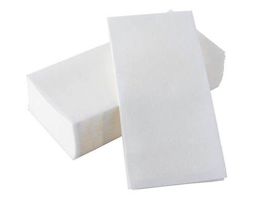 12x17 Linen-Like White Guest Towel