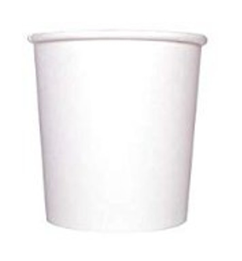 10/12oz White Paper Food Container