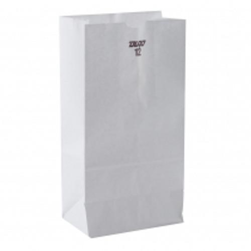 12lb White Paper Bag