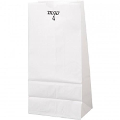 4lb White Paper Bag (500/pk)