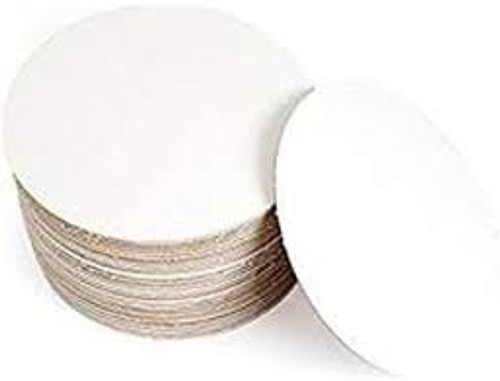 "10"" White Grease Proof Corrugated Circle"