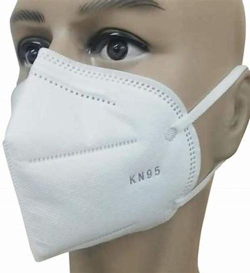 KN95 Respirator Safety Masks 4-Ply Disposable Masks (5/pk)