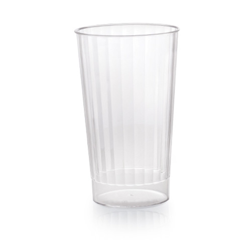 Fineline Renaissance 2416-CL 16 oz. Clear Hard Plastic Crystal Tumbler - 240/Case