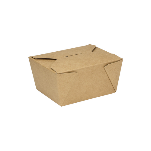 #1/30oz Kraft Fold-to-Go Box  (450/cs)