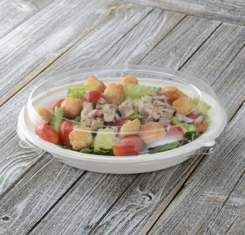 "Conserveware Bowl Lid 10"" x 7.5"" 32oz  (250/CS)"