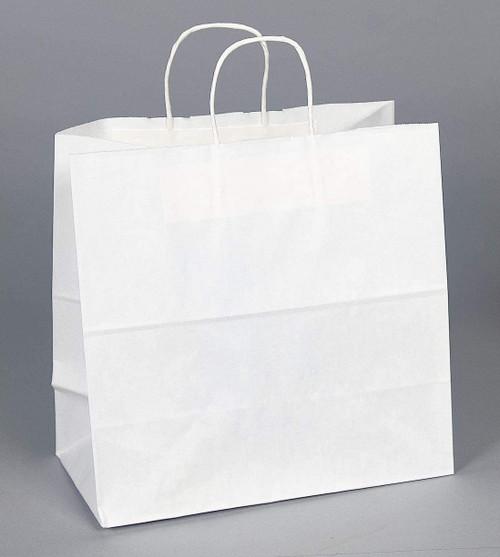White 13x7x13 Jr Mart #65 Handled Shopping Bag (250/bdl)
