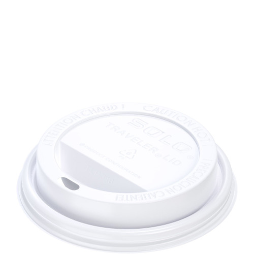 10S/12/16/20 White Dome Lid (1M)