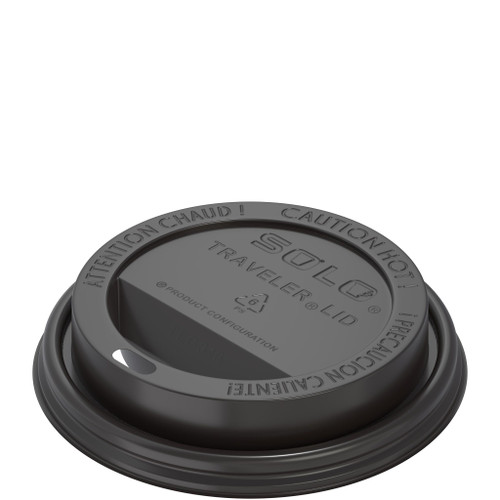 10S/12/16/20/24 Black Dome Lid (1M)