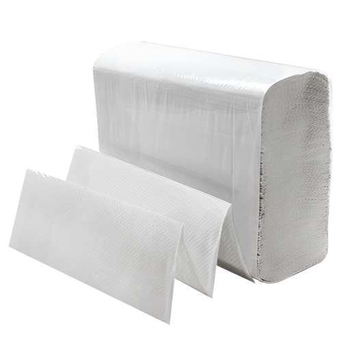9-1/2x9 White Multifold Towel (4M/CS)