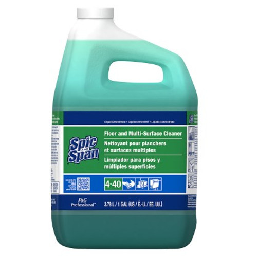 C/L Spic & Span Floor and Multi-Surface Cleaner Concentrate Closed Loop 4-40 3/1 gal