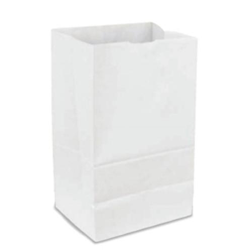 20lb White Paper Bag (500/pk)