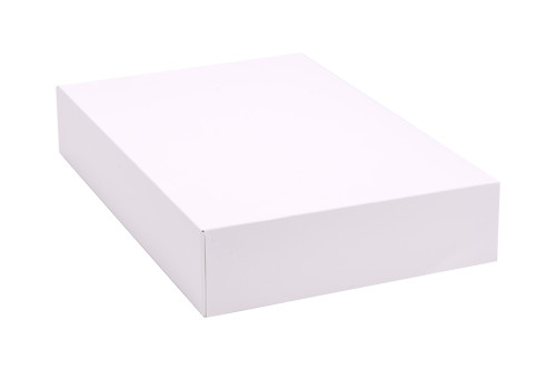 "12"" x 8"" x 2 1/4"" White Auto-Popup Donut / Bakery Box (200/bdl)"