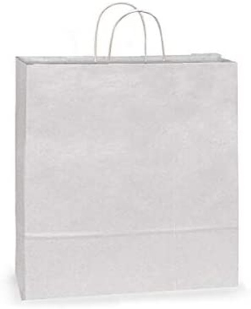 18x7x19 White Handled Shopping Bag (200/BX)