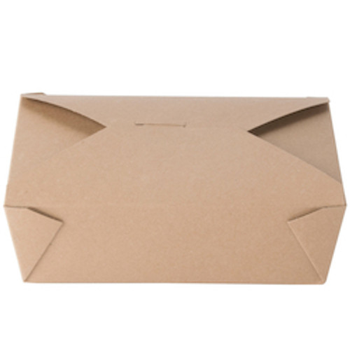 #3/66oz Kraft Fold-to-Go Box  (200/cs)
