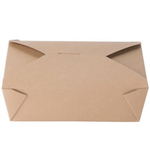 #3/66oz Kraft Fold-to-Go Box  (200/cs)