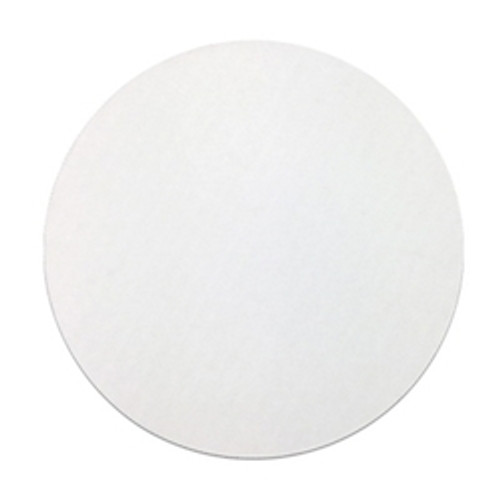 "12"" dia. White Corrugated C-Flute Round Top Cake Pad (250/cs)"