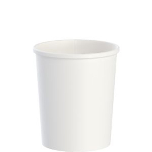 White 32oz DSP Paper Food Container (500/cs)