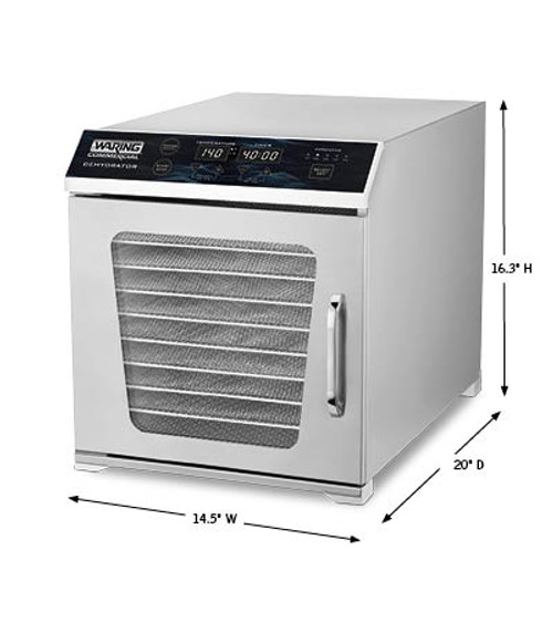 Waring® Commercial 10-Tray Dehydrator