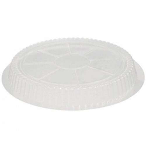 "7"" Clear Dome for Round Foil Pan Only (500/cs)"