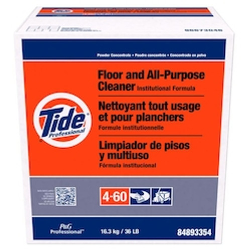 Tide® Professional Floor and All-Purpose Cleaner Institutional Formula Concentrate Powder 4-60 1/36 lb