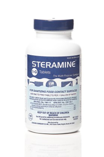 Steramine Sanitizer Tablets (6/150)
