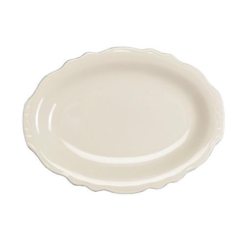"""Platter, 7-3/4"""", oval, Homer, Carolyn (36/cs)"""