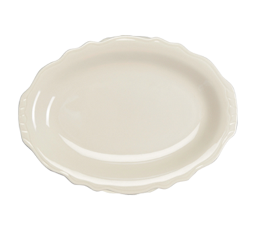 "Platter, 11-3/4"", oval, Homer, Carolyn (12/cs)"