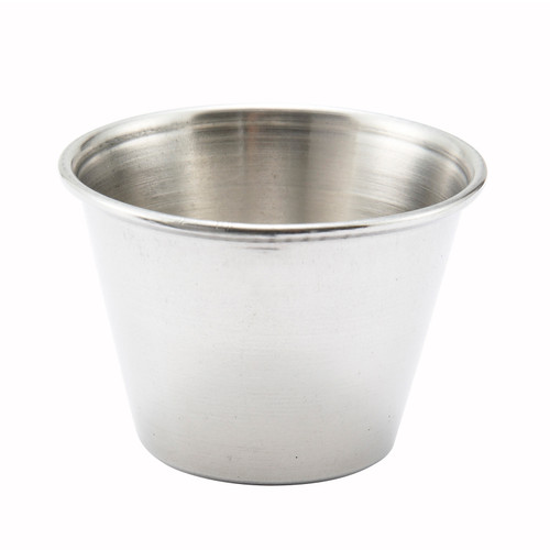 Sauce Cup, 2-1/2 oz., round, stainless steel (12ea)