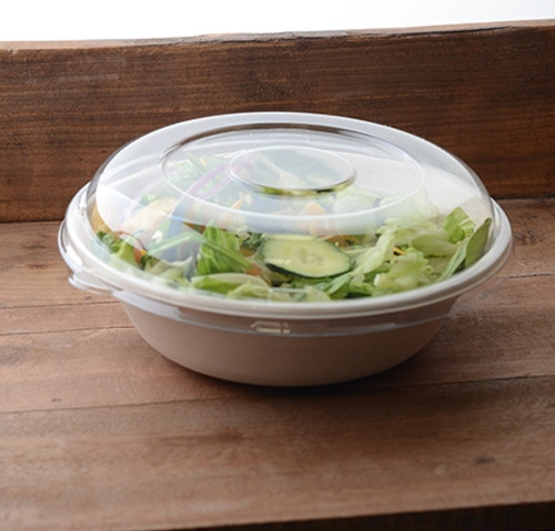 "Conserveware 8"" Round PETE Clear Dome Lid (300/CS)"
