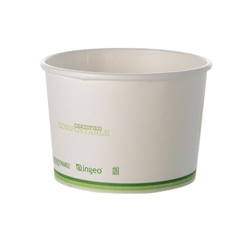 Conserveware 8oz/90mm PLA Lined Food Container (1M/CS)