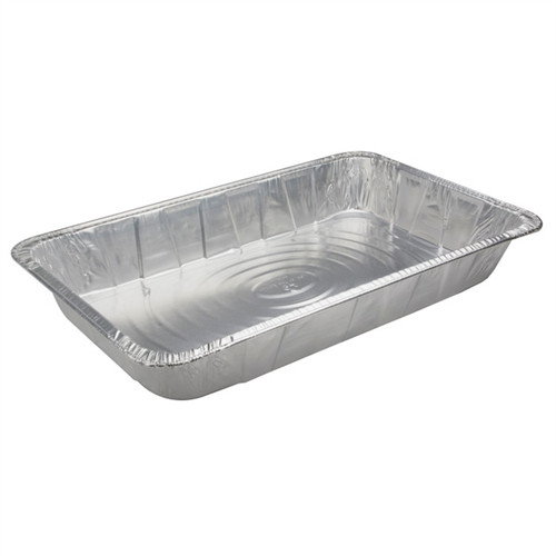 1/1 Size Aluminum Steam Table Pan - Deep/Heavy (50/cs)