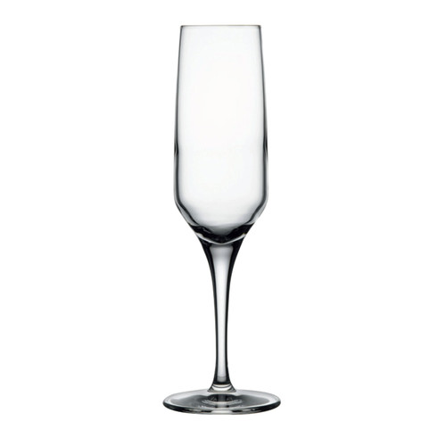 "Nude Fame Champagne Flute, 7 oz., 8-3/4""H (1-3/4""T; 2-3/4""B), lead-free crystal (24 each per case)"