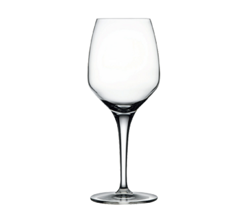 "Nude Fame Wine Glass, 14 oz., 8-1/4""H (2-1/2""T; 3-1/4""B), lead-free crystal (24 each per case)"